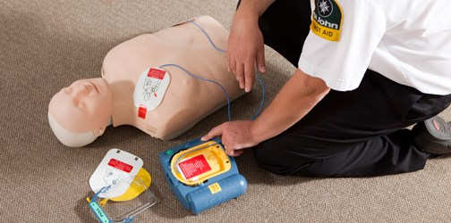 St John is actively promoting the growth of a network of AEDs for public use, through major employers and community organisations.