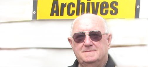 Allan McCullough – archives volunteer for St John