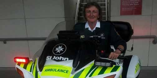 Teresa Burt – emergency medical call taker