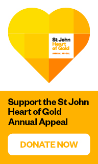 Support the St John Heart of Gold Annual Appeal
