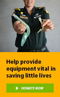 Help provide equipment vital in saving little lives