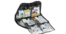 First aid kits, first aid products and medical consumables