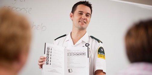 Qualified instructors take our First Aid courses.