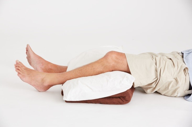 Leg fracture first aid