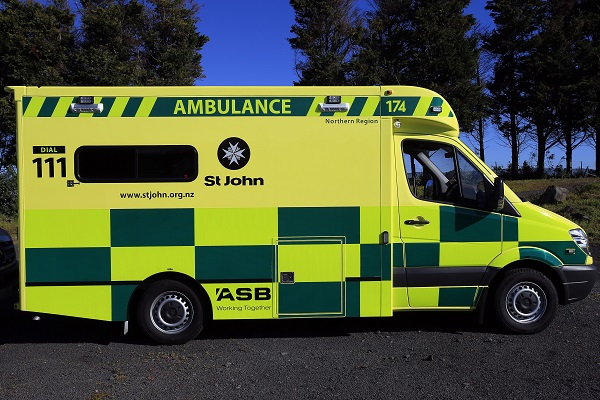 St John has rolled out the first of their yellow ambulances in New Zealand, in a move to improve safety for staff, patients and the public.