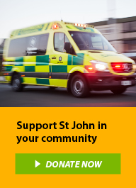 St John is a charity supporting communities throughout New Zealand.