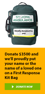 First Response Kits help save lives, donate today