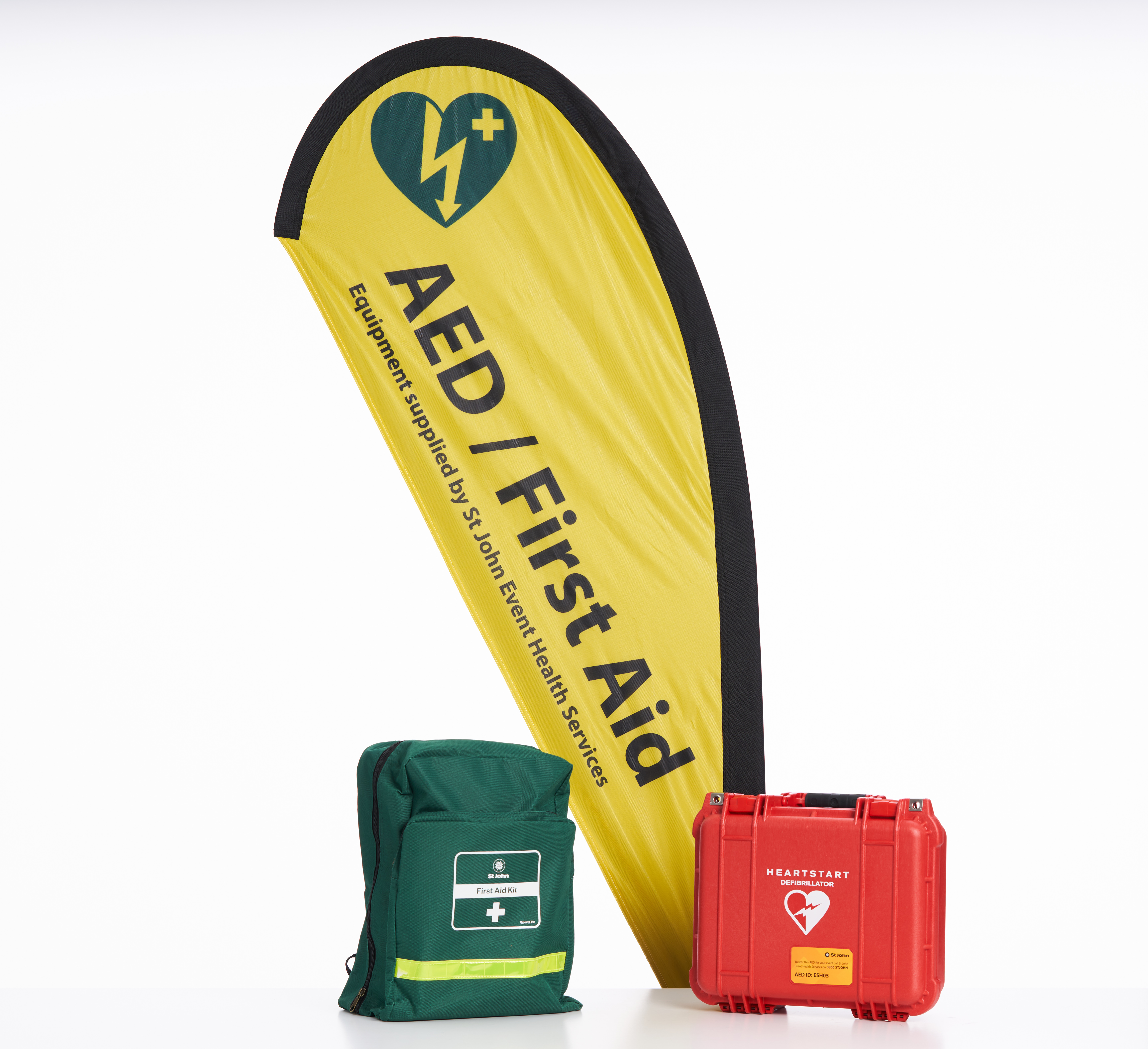 AED rental options from St John