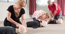 Our first aid courses range from a basic Level One right through to advanced resuscitation training for health professionals.